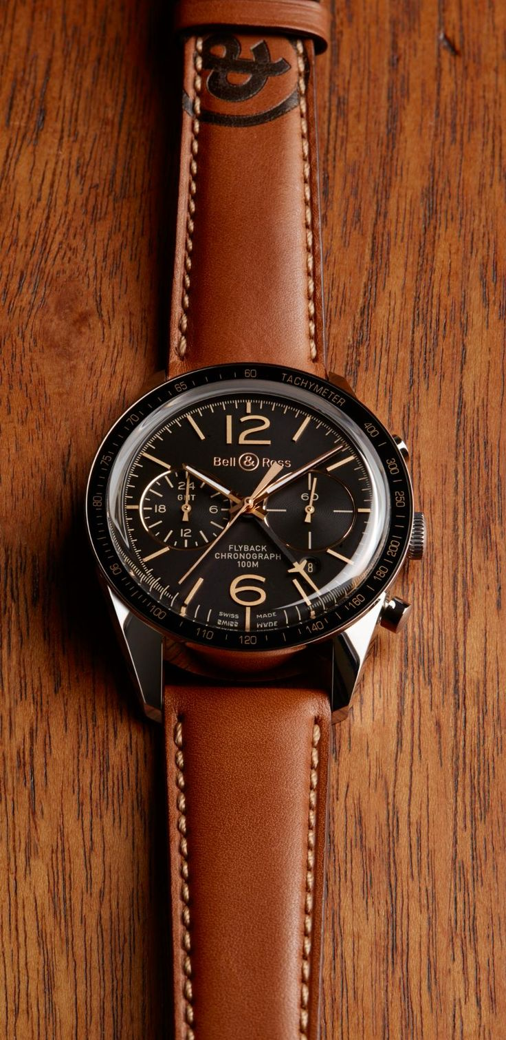 Bell & Ross - BR 126 Sport Heritage GMT & Flyback