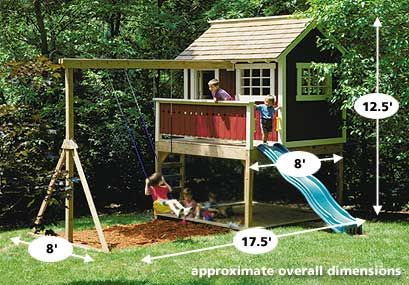 This is something that hubby could build for the boys!