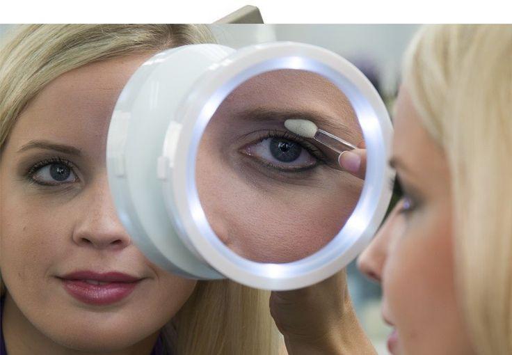 LED-es kozmetikai smink tükör - a tökéletes külsőért!