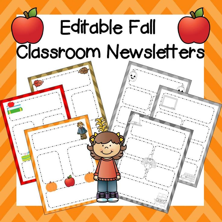 Teachers Pay Newsletter Template on