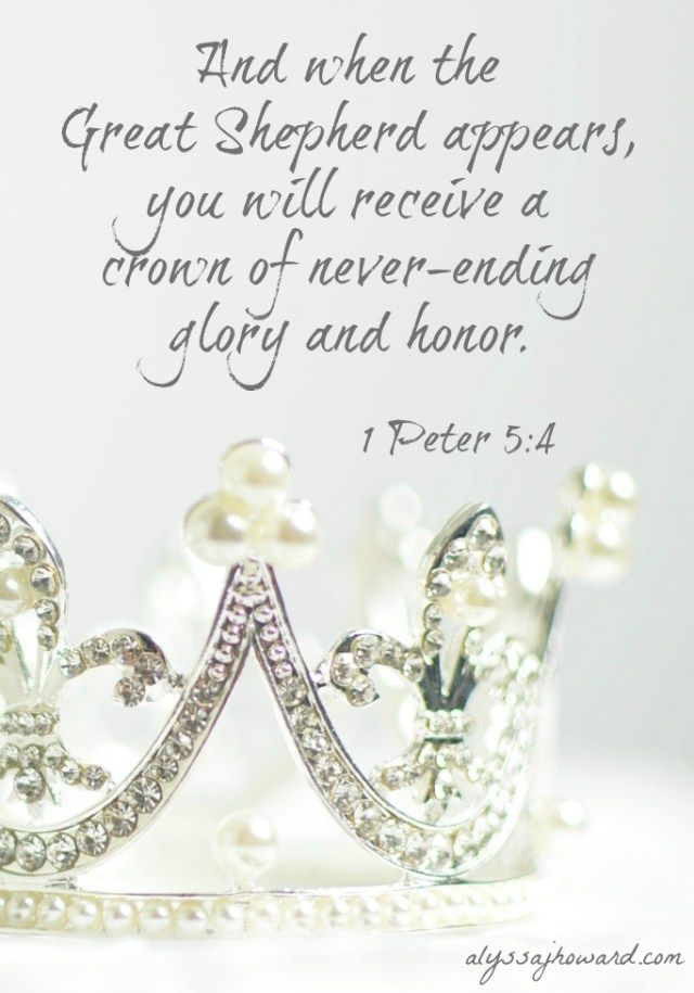 You are royal by birth… rebirth that is. When you were born again, you were born into a royal family. And no one can take that identity from you.