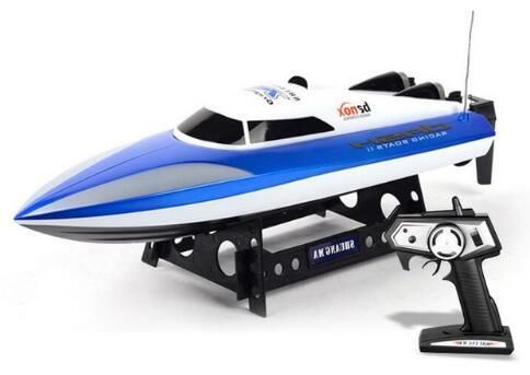 Top RC Boat 7010 High-speed Motor 4CH 2.4G 46CM Large-scale RC Boat Remote Control Speed Boats Ship Summer Toy Gift For Children