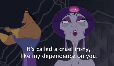 And she definitely isn't afraid to give Kronk a little sass. | 24 Reasons Yzma And Kronk Are The Best Disney Characters Ever