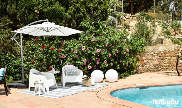 #proyectosariera #iloftyou #interiordesign #ikea #sariera #begur #girona #costabrava #lowcost #catalunya #zarahome #maisonsdumonde #faroiluminacion #navy #navystyle #marinero #estilomarinero #exterior #terraza #jardín #falster #piscina #chillout