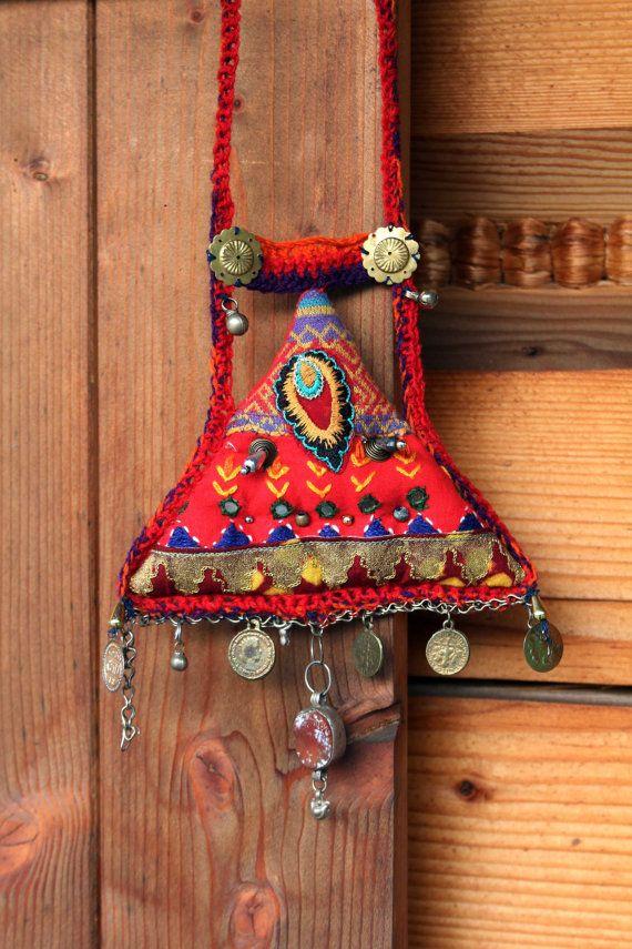 Ethnic style ammulet pendant by jamfashion on Etsy