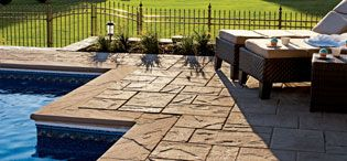 Mondrian 50 Slabs give you a great look at an affordable price. This textured slab looks great and is easy to install. It's practical for your DIY project and has a beautiful look that the most professional landscaper would be proud to put on their website. Visit http://www.bergmans.ca/ for more details.