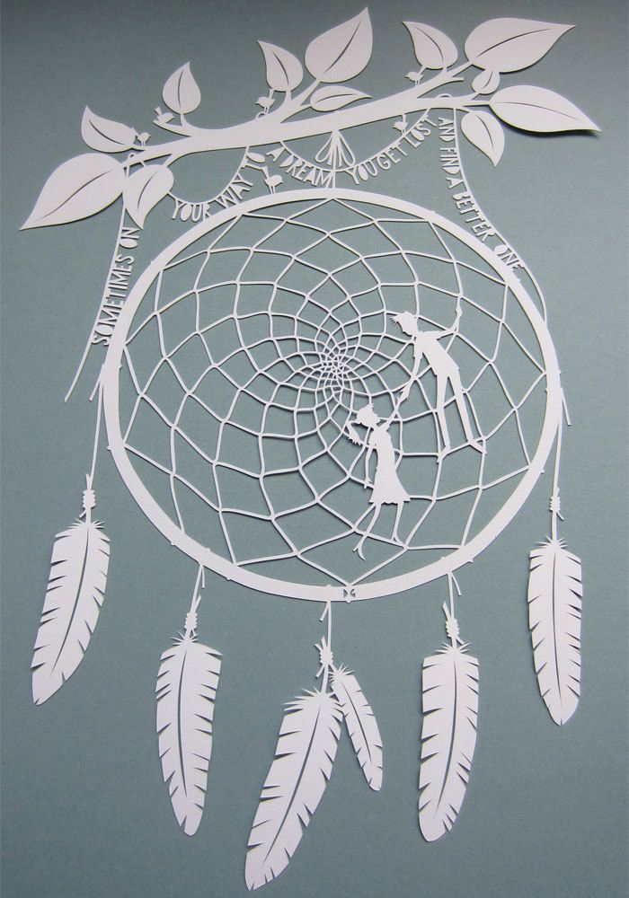 Papercut - Sometimes. £90.00, via Etsy.