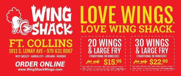 Wing Shack - HotSpots Coupons - Your Local Coupon Guide