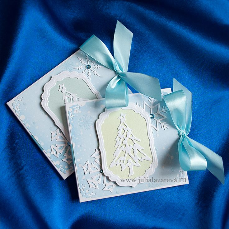 """Конверт для диска с фотографиями """"Снежная ёлка""""  #card #scrapbooking #postcard #scrap"""