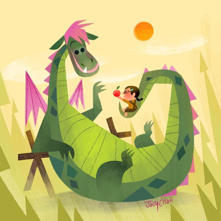 Pete's Dragon by Joey Chou