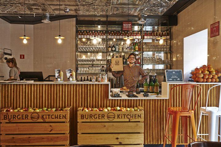 Дизайн интерьера ресторана в стиле бистро Парижа