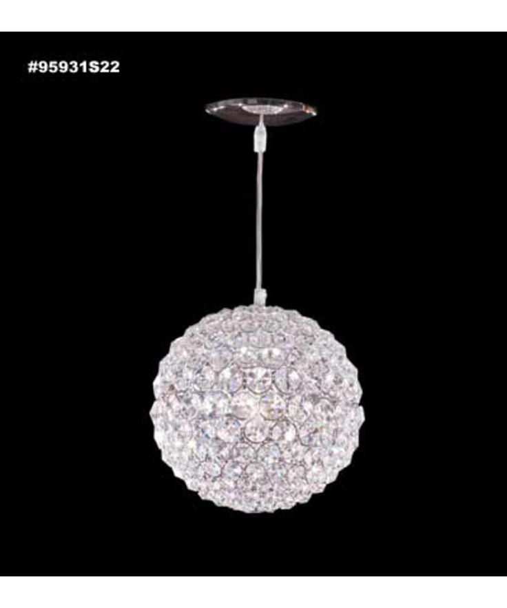 Powder room pendant james r moder 95931 sun sphere europa for Powder room light fixtures