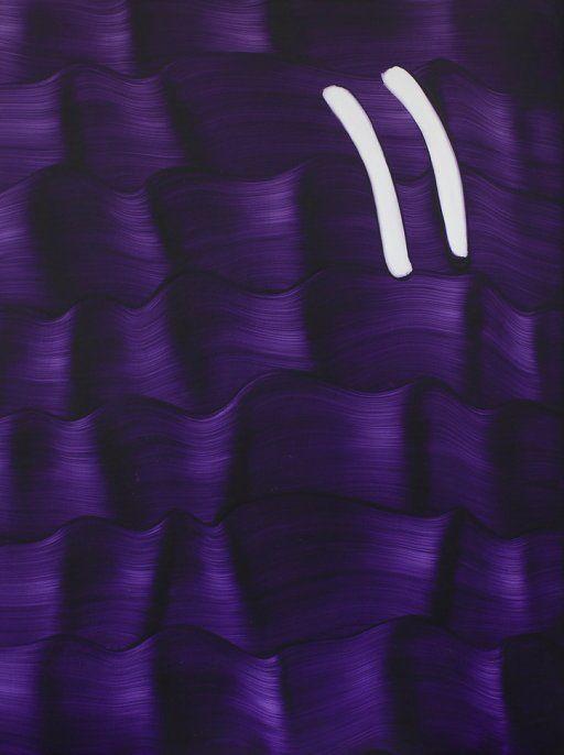 Untitled (Dioxazine Purple) (2015) acrylic on wet-sanded gesso, ply panel 40.5 x 30.6 cm Untitled (Dioxazine Purple) (2015) acrylic on wet-sanded gesso, ply panel 40.5 x 30.6 cm