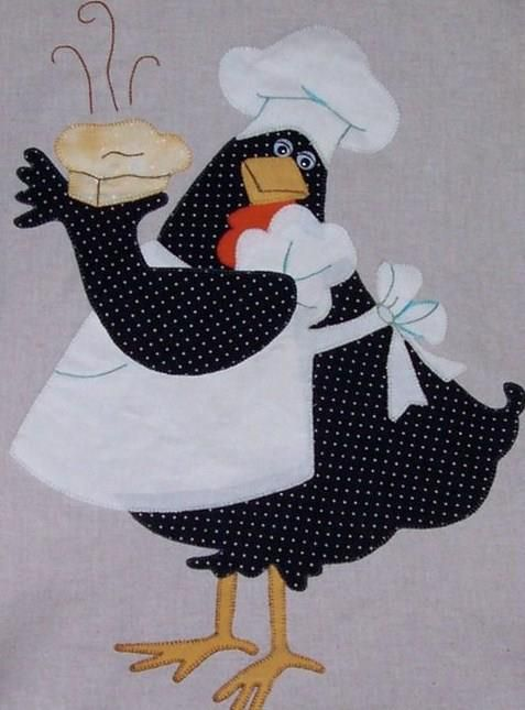 GALLINA COCINERA  This is just so cute! I love it. Plan on making one.cj: