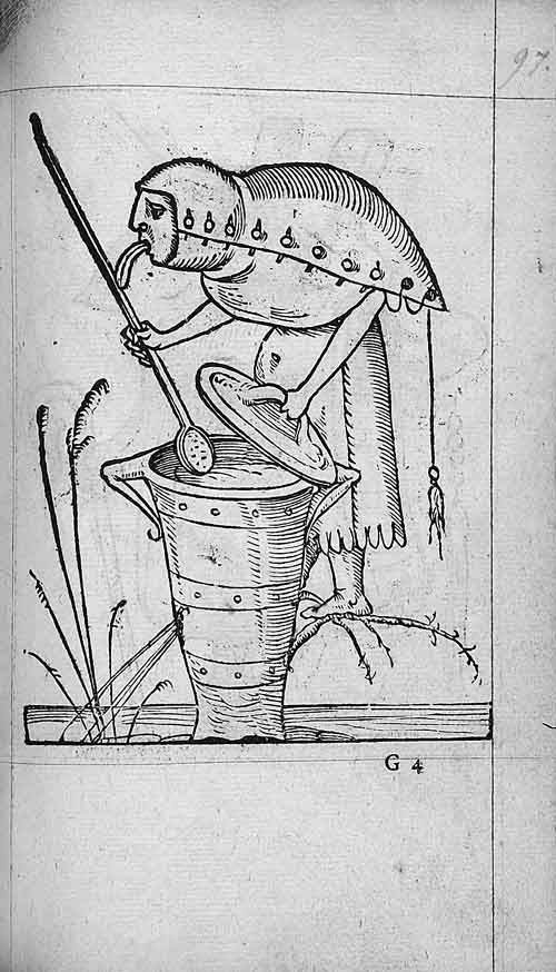 François Desprez,  f. G4 Dessin 97  Les Songes drolatiques de Pantagruel  A Paris : Par Richard Breton 1565 (5)