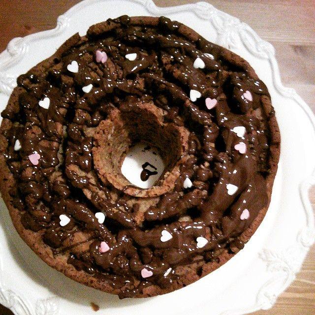 Heart cake...ready!