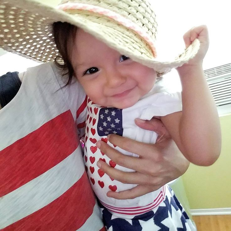 Happy Independence Day! �� Today last year was Lily's due date! (although she didn't make her appearance until two days later) *Be safe tonight, everyone! #lifewithlily�� #11monthsold #independenceday2017 http://misstagram.com/ipost/1551737491081759889/?code=BWI4QbUlYyR
