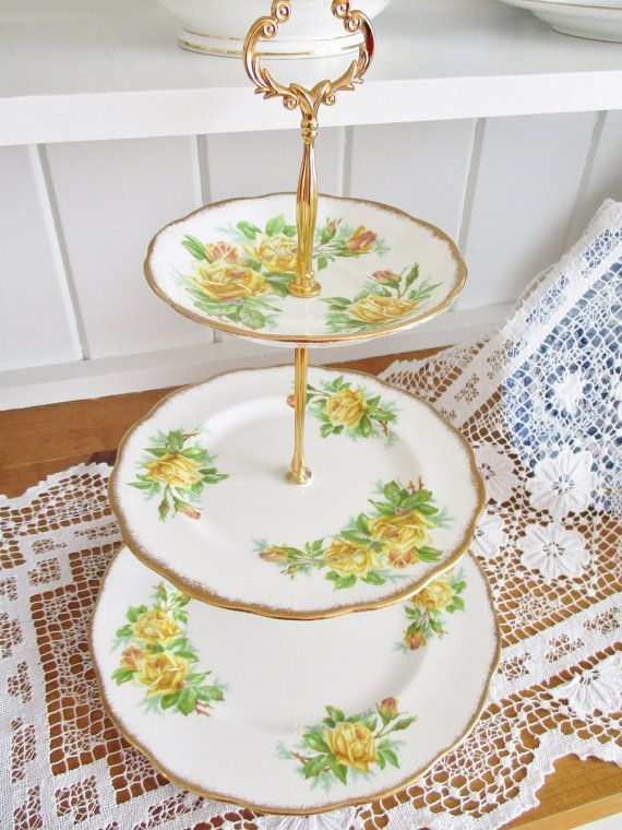 Hey, I found this really awesome Etsy listing at https://www.etsy.com/ca/listing/269832741/vintage-royal-albert-tea-rose-3-tier
