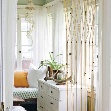 DIY — Rideau minimaliste façon macramé - Chambre - Inspirations - Décoration et rénovation - Pratico Pratique