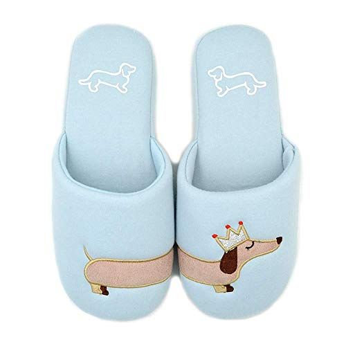 Dog Slippers Hot Critter House Indoor Shoes Dachshund Slippers For