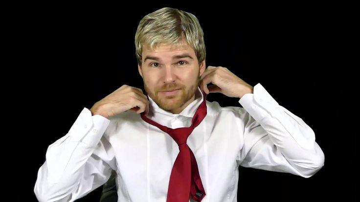 Krawatte binden - wie bindet man eine Krawatte mit doppeltem Windsorknoten