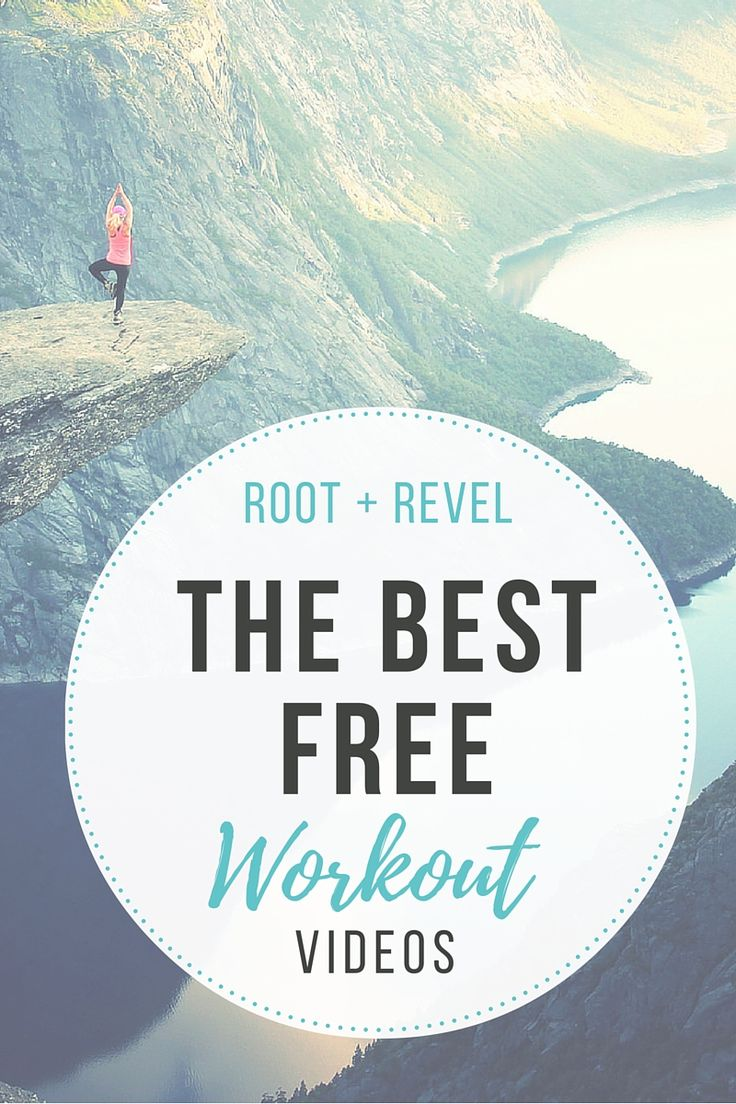 The best free workout videos on Youtube, so you can exercise right in your own living room for no cost! Expect to sweat and get AMAZING results!