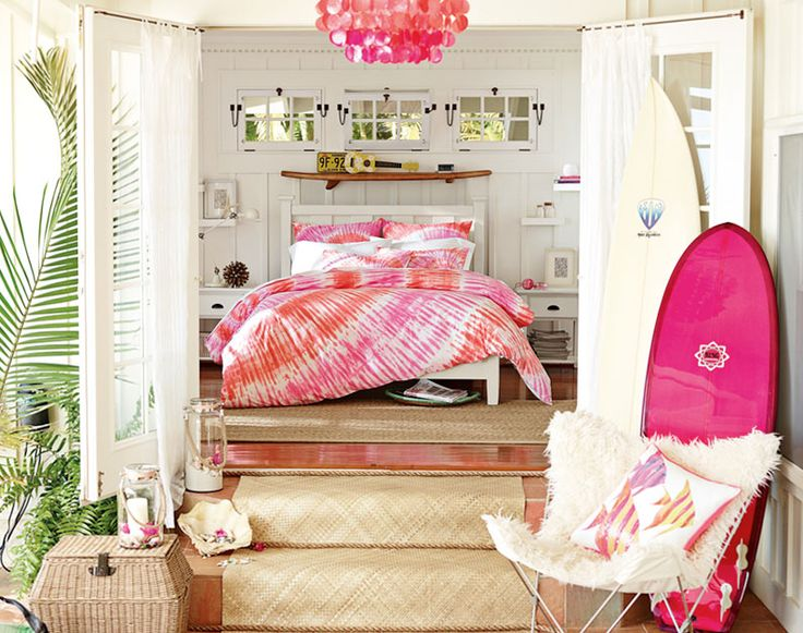 Teenage Girl Bedroom Ideas | Hawaiian Hideaway | PBteen