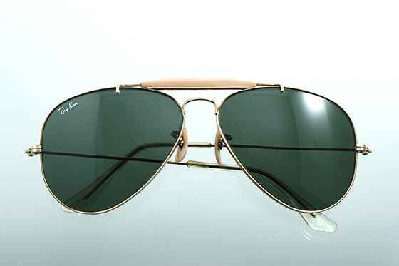Ray-Ban アビエイター 1970年代 ボシュロム社製 60mm ゴールド×グリーン sun-r05 - アンティーク&オールディーズ オンラインストア
