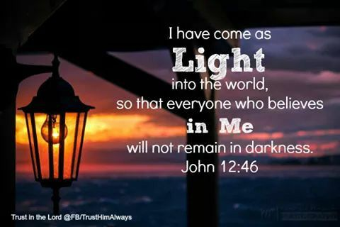 Jesus Light Of The World Light Of The World