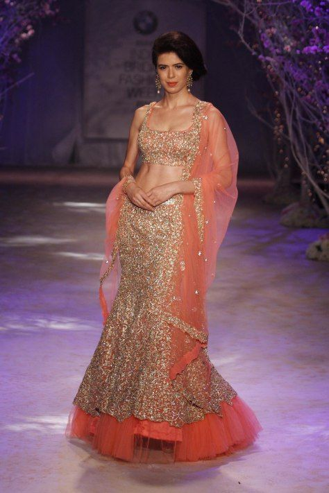 http://JyotsnaTiwari.com/ collection at BMW @IndiaBridalWeek #IBFW2014 (August)