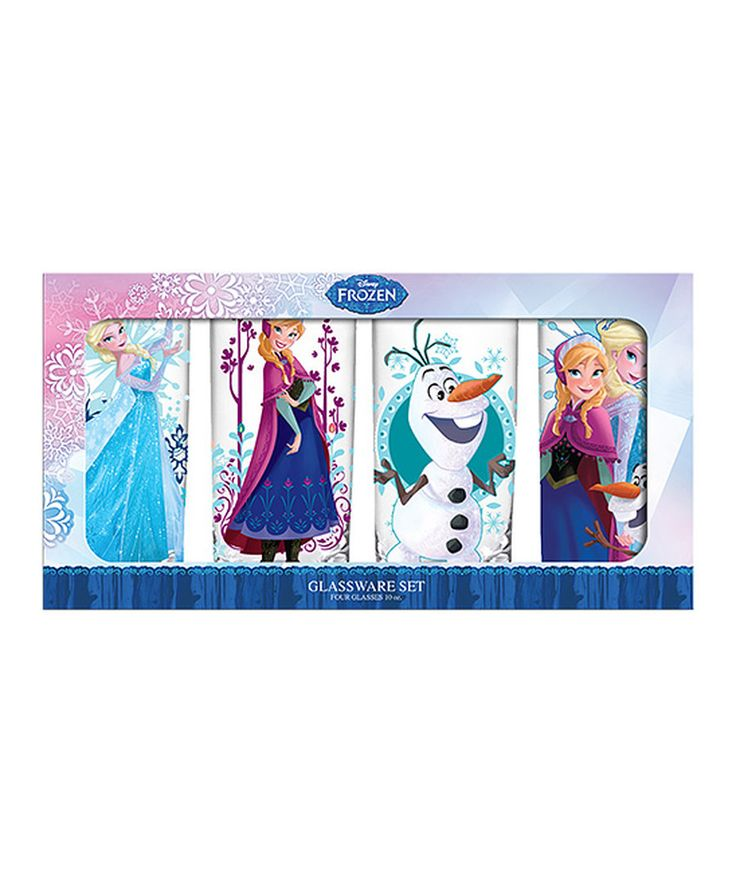 Look at this Frozen Character 10-Oz. Tumbler - Set of Four on #zulily today!