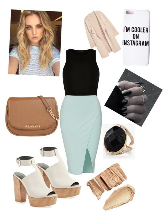"""Posh Day out"" by fashion-girl-katrina on Polyvore featuring River Island, Rebecca Minkoff, MICHAEL Michael Kors, Missguided, Express and Kofta"