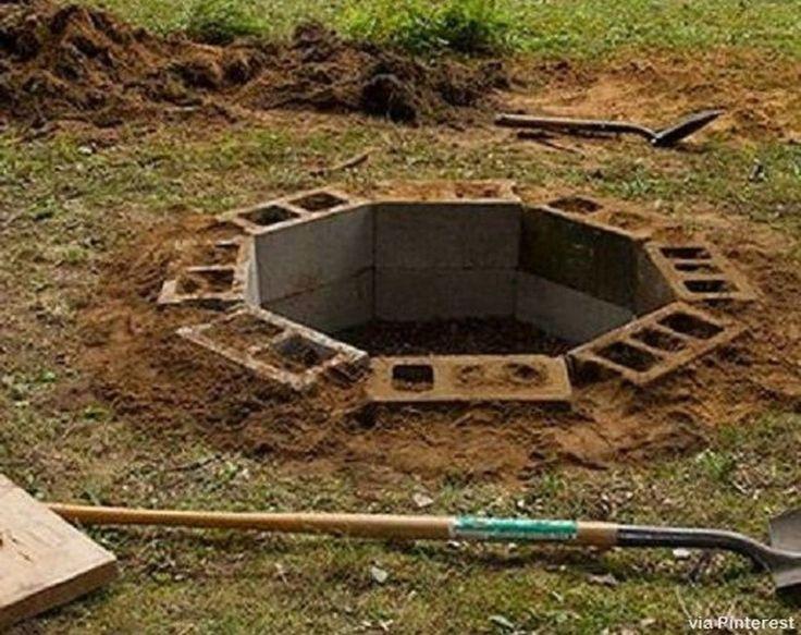 Brilliant Diy Cinder Block Garden Design Ideas 39 ... on Diy Cinder Block Fireplace id=67883