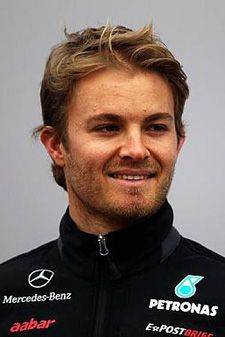 Nico Rosberg, F1 Driver. Sorry NASCAR but you got nothing on F1 drivers. #handsome