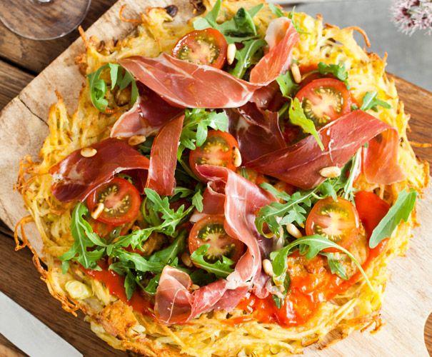 Recept: Röstipizza