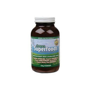 Green Nutritionals Green Superfoods - 150g Powder $24.95