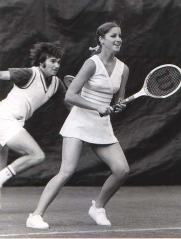 Playing doubles with Jimmy Connors, 1974