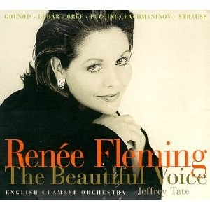 The first time I ever heard her voice. Inspiration. Renee Fleming - The Beautiful Voice