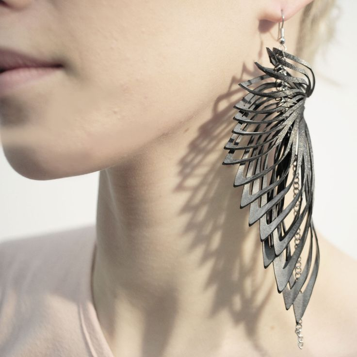 Long statement earrings Clothing, Shoes & Jewelry: http://amzn.to/2iTBsa9