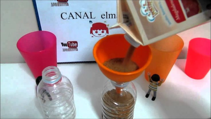 3 - Experimentos caseros - Reloj de arena con azucar