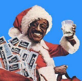 Nothing says Christmas like Sammy Davis and Alka Seltzer.