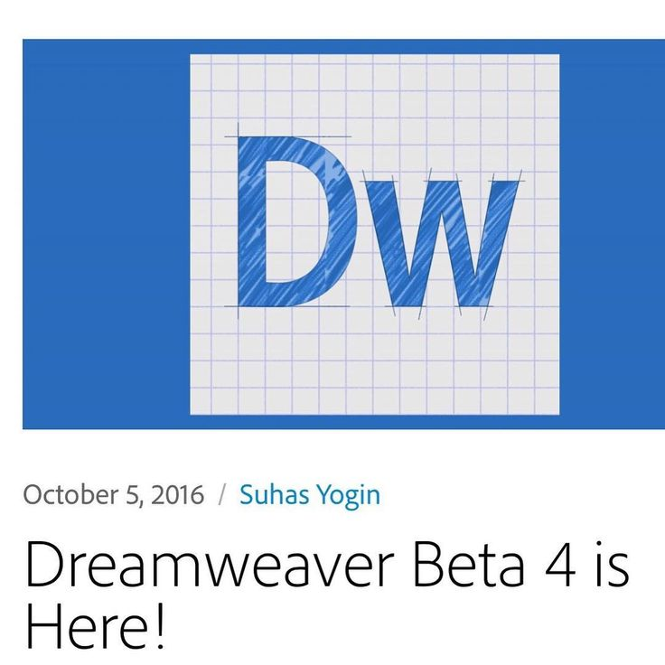 #adobe #dreamweaver beta 4 is here. Are you interested for the news features? What is your code editor ? Me is #sublimetext and #atom       #freecodecampmonthey  #freecodecamp #github #patedefwebdesign #webdevelopment #webdevelopers #webdesign #coding #html5 #css3 #javascript #php #nodejs #reactjs #monthey #codingmonthey #valais #switzerland #adobe #dreamweaver #codeeditor #atom #sublimetext #dreamweaverbeta4