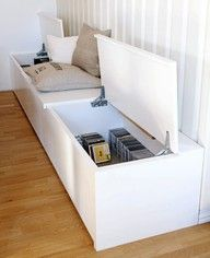 hidden storage space - need to do this ! - To connect with us, and our community of people from Australia and around the world, learning how to live large in small places, visit us at www.Facebook.com/TinyHousesAustralia