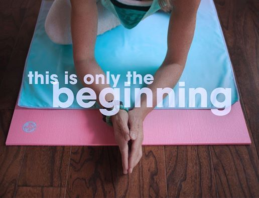 Manduka Mantra, for all of the beginnings ahead.