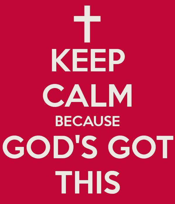 trust in God.