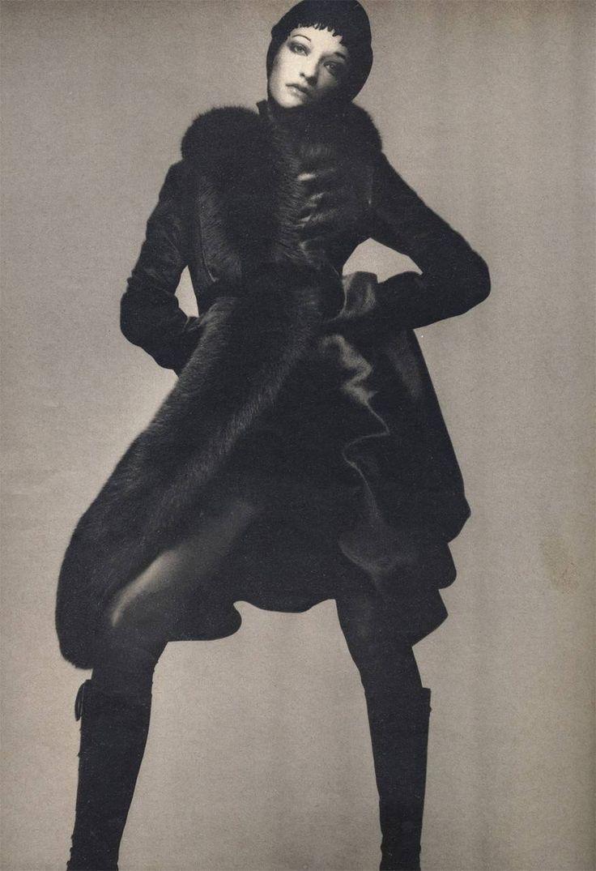 Loulou de la Falaise by Richard Avedon for Vogue, 1970