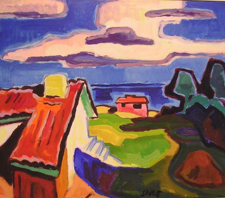 Karl Schmidt-Rottluff, Die große Wolke, 1957