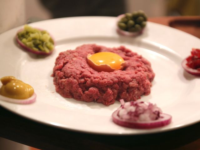 Filete Tartaro (steak tartare)