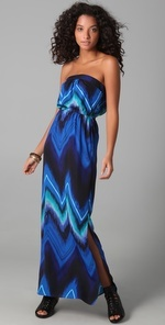 Twelfth St. by Cynthia Vincent Strapless Maxi