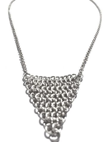 STARDUST fine trine chain maele necklace
